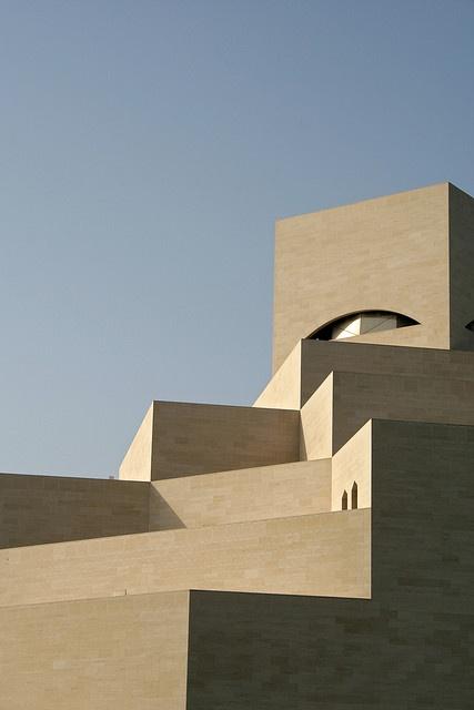 qatar museum of islamic art. so amazing. im pei's newest work.