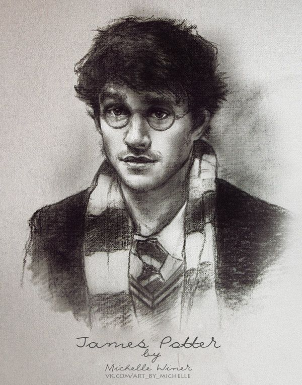James Potter by Michelle-Winer on DeviantArt
