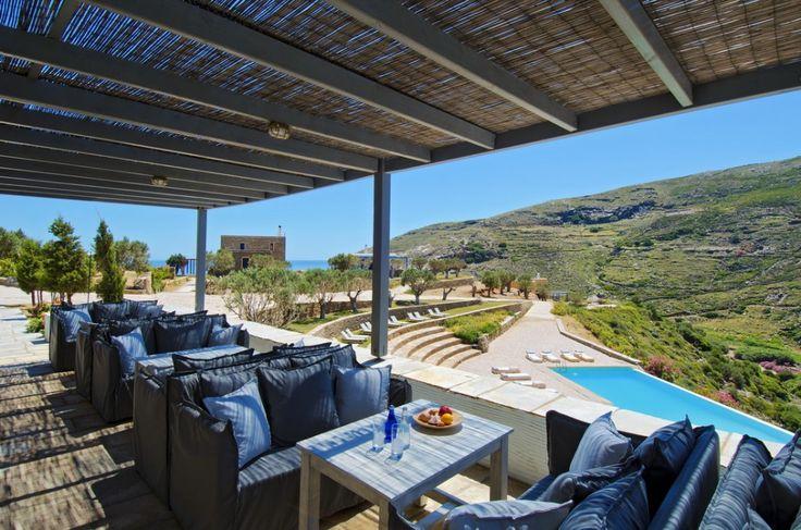 Aegea Blue Cycladic Resort- Views from the Pool
