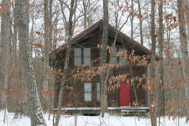 17 best images about accomodations at abe martin lodge on for Ponte coperto cabina brown county