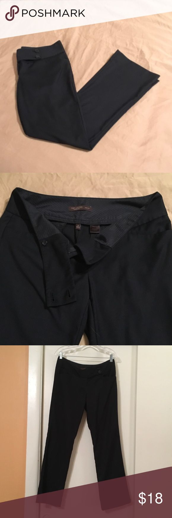 The Limited Drew fit Navy Trousers Like new, very comfy navy blue dress pants that are perfect for the office and traveling. They are the Drew fit in the short length so if you're shorter they can easily be worn with flats. Very nice looking pants 😊 The Limited Pants Trousers