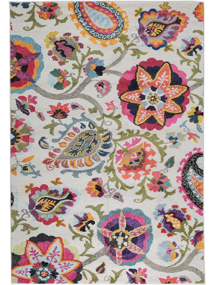 Diese bunten Farben & floralen Muster bringen den Boho-Style zu Ihnen nach Hause! #benuta #teppich #interior #rug #boho