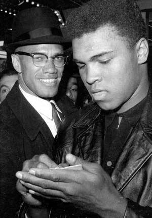 Malcolm and Muhammad. : Muhammad Ali, Malcom, Famous People, Mohammed Ali, Malcolm X, Ali Kaya, Black History, Photo, Mohammedali