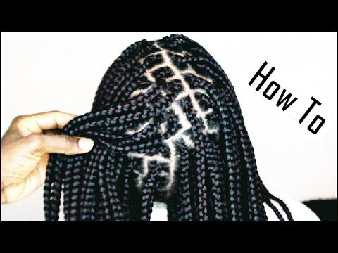 HOW TO DO BOX BRAIDS LIKE A PRO ONLY 1 HOUR