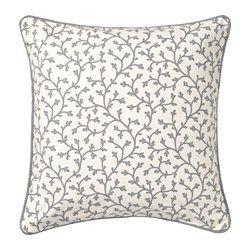 IKEA - LUNGÖRT, Cushion cover, You can easily vary the look, because the two sides have different designs.The zipper makes the cover easy to remove.