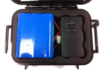 Micro Track Real Time GPS Covert Tracking Kit System. With the extended battery in the magnetic mount pelcan case, we have run it up to 8 hrs a day for over 12 days without a recharge.