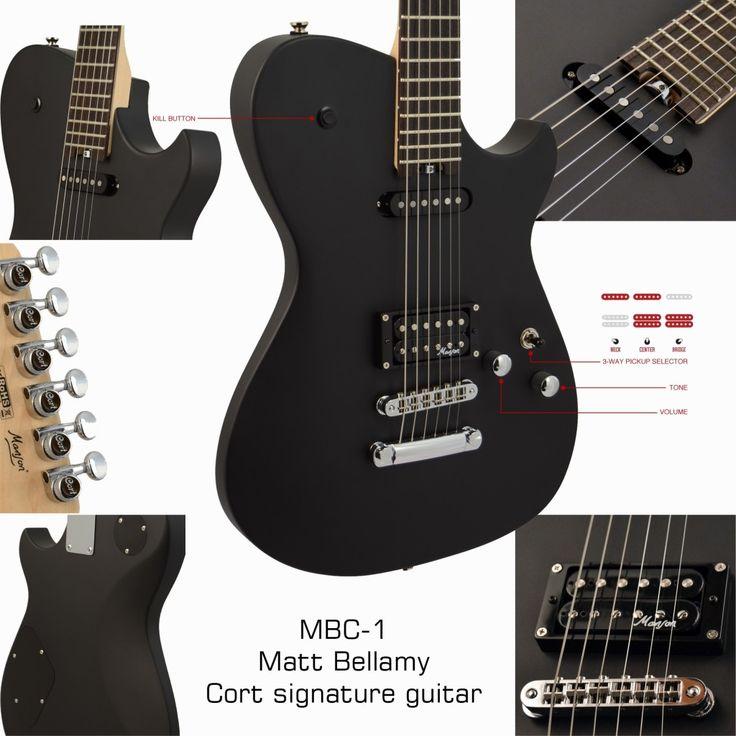 Matthew Bellamy's guitar (MUSE) put on eBay in in ...