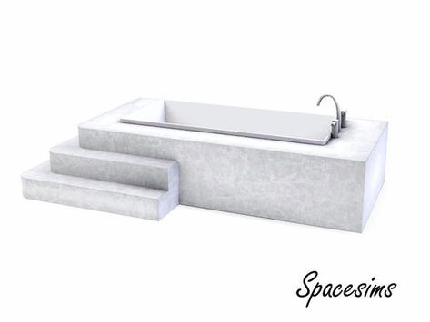 spacesims & Adria Bathroom-Bathtub   – Sims 4 Cc