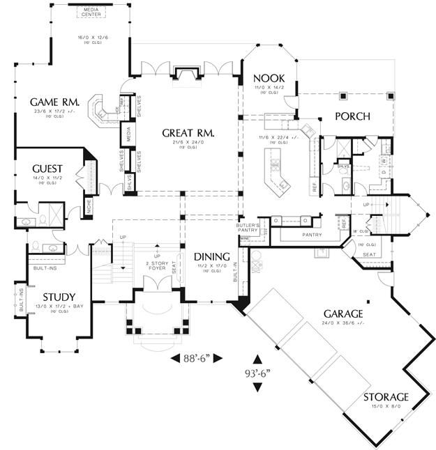 111 best floor plans images on pinterest arquitetura for Best floor plan ever