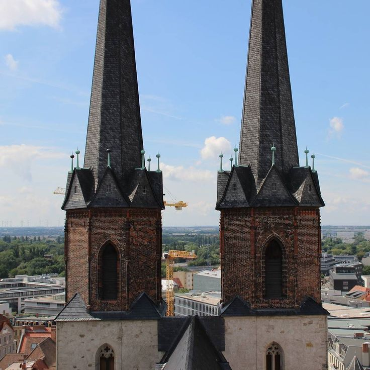 Zwillingstürme der Marktkirche