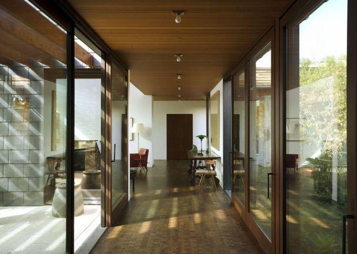 Walden House - Edwards, CO - Interior photo of hallway - Selldorf Architects