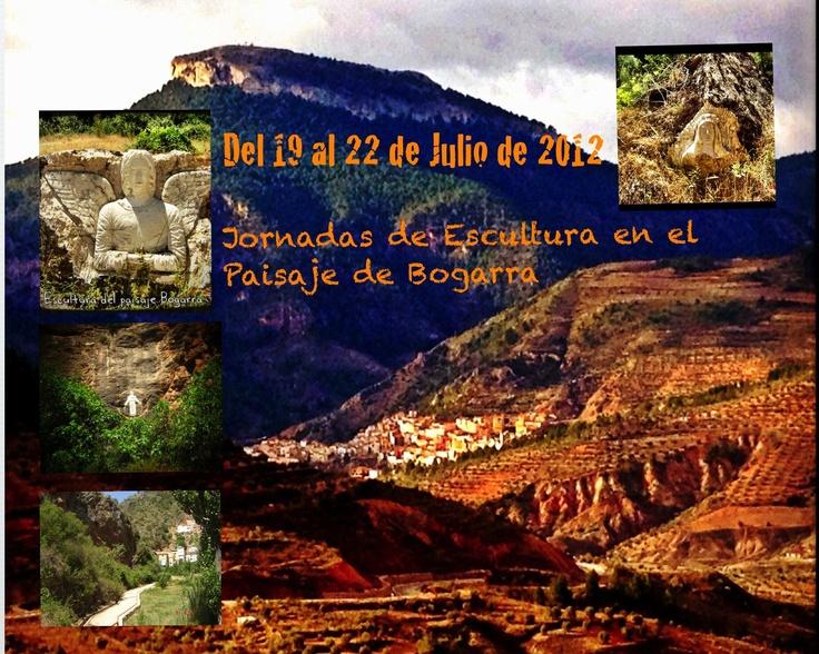 Oferta Especial, jornadas de escultura del paisaje de Bogarra