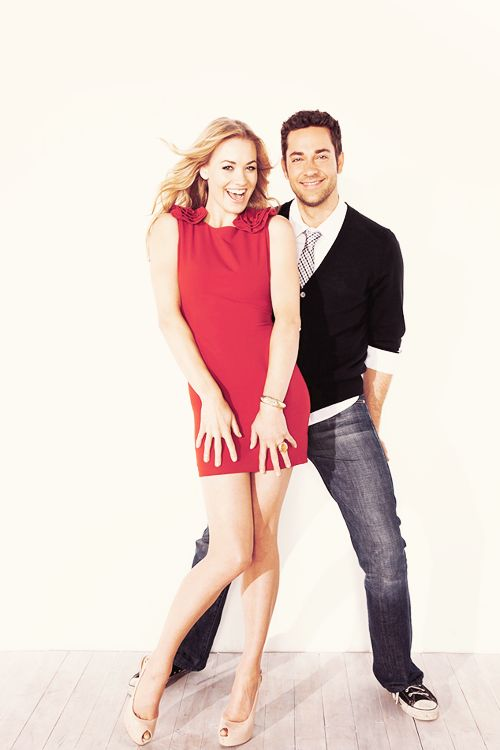 zachary levi and yvonne relationship