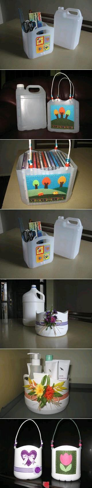 what to do with the cat litter jugs