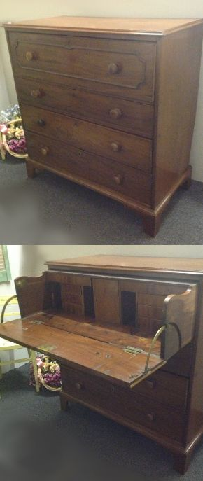 Restored Georgian secataire was £415, Sale price £195 (If you would like to buy this item call the sales office on 01903 753377 or visit our showroom www.thergf.co.uk) The RGF Restoration Team is the South East's leading furniture up-cycling company. Our skills include upholstery, restoration, and paint effect including shabby chic, farmhouse distress and French provincial. (sale ends 31/5/15)