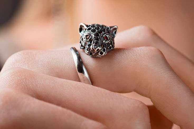 Panther ring iconic #IOSSELLIANI