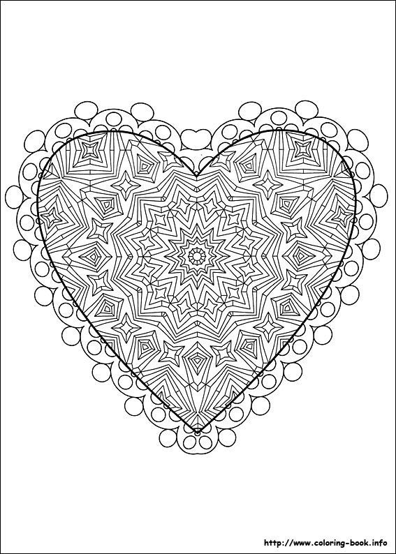 Tons of Free Stuff for Valentine's Day: Free Printable Valentine's Day Coloring Pages