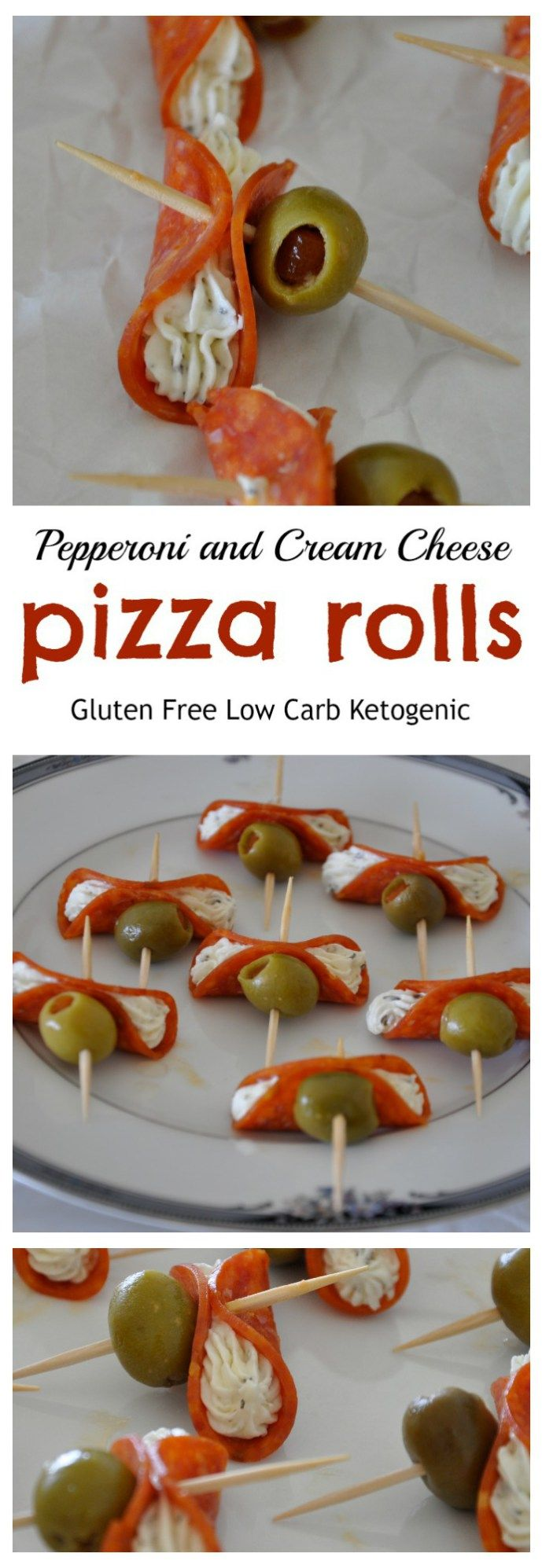 Pepperoni and Cream Cheese Pizza Rolls - Gluten Free, Low Carb from knowgluten.me