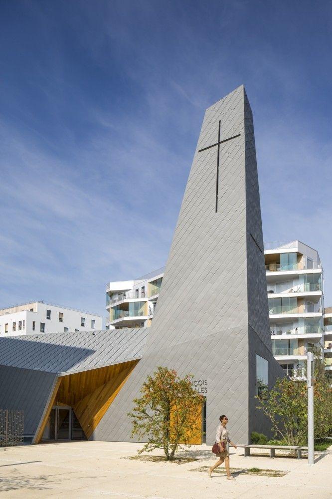 #architecture #church Ensemble Pastoral Catholique / Atelier d'Architecture Brenac-Gonzalez
