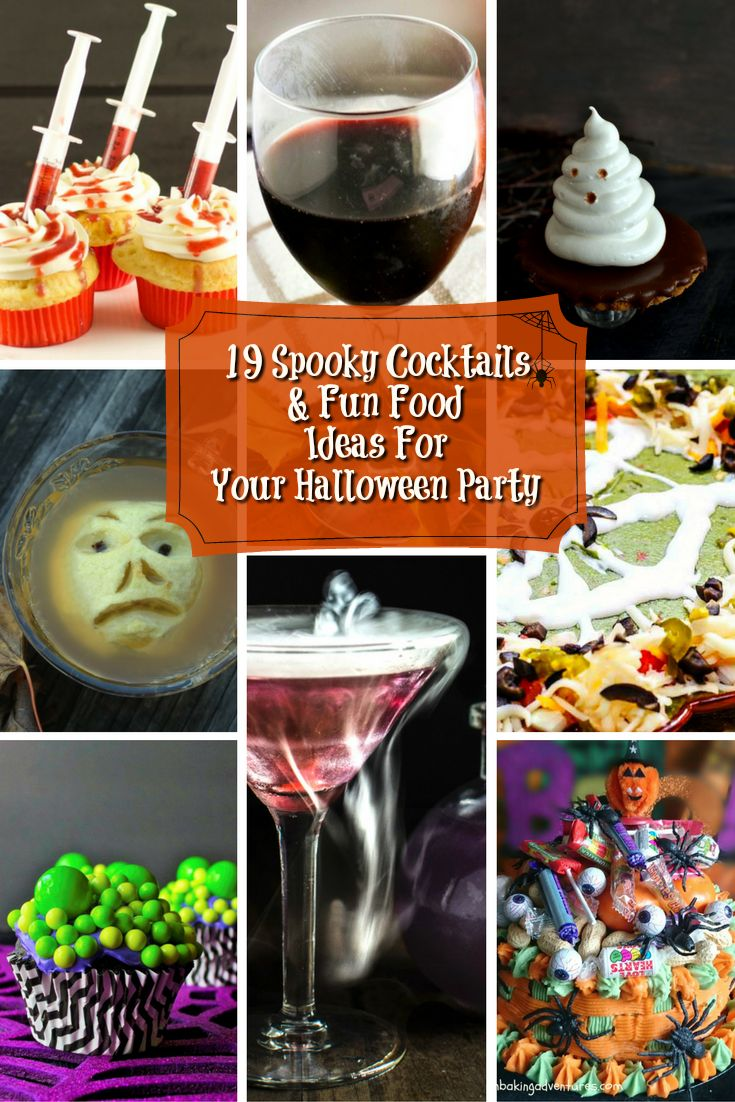 19 spooky cocktails fun food ideas for your halloween party - Fun Halloween Ideas