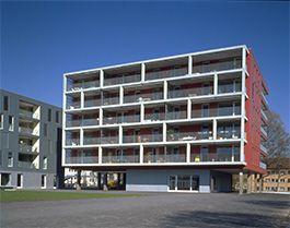 Siedlung Jaminweg Architektick