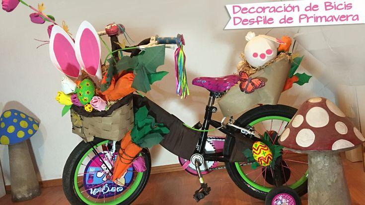 Decoración Bicicleta para Primavera :: Chuladas Creativas :: Desfile Pri...