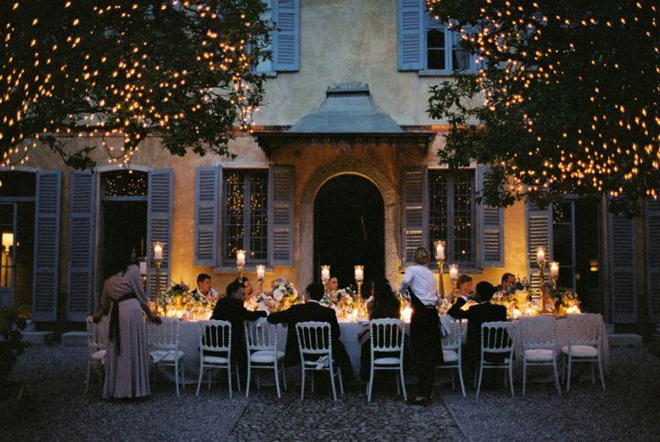 Romantic Italian Villa Wedding on Lake Como