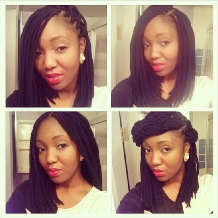 hairstyle - protective style - genielocs - yarnbraids