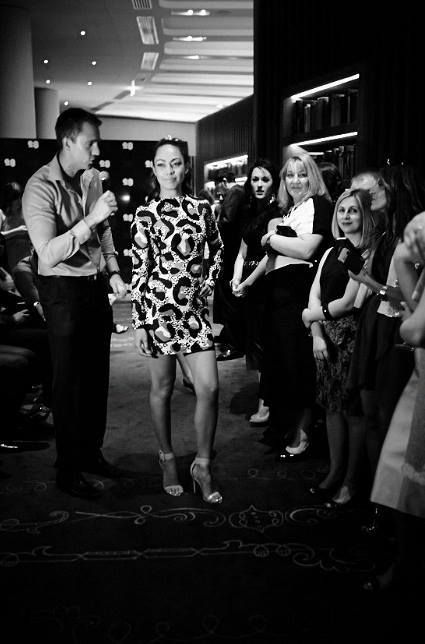 2014: Ana & Vlade Divac Humanitarian Cocktail Night. Jungle Shadow Dress - sold for $450.00. All proceeds went to the charity for refugee children in Kosovo.  'ПИТРА' @natasapitra