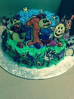 Baby Einstein Birthday Cake