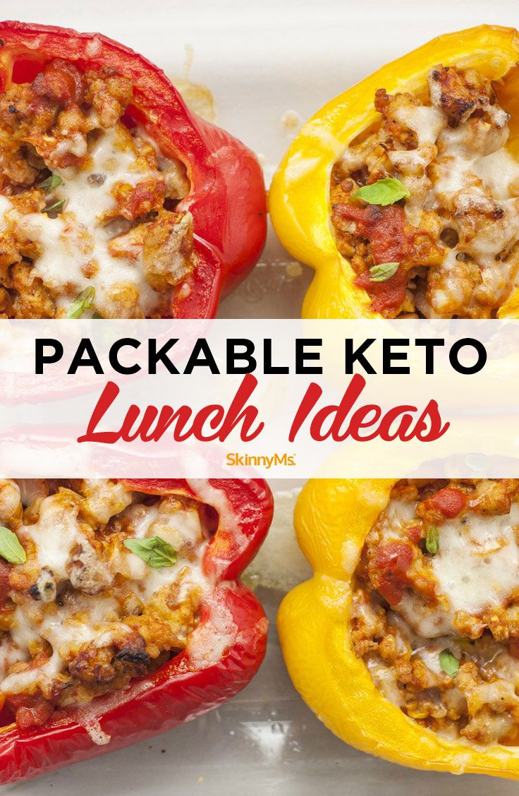 Packable Keto Lunch Ideas