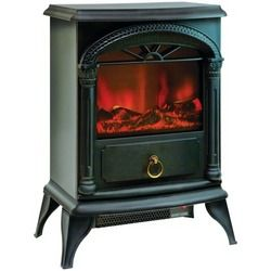"""Comfort Zone 21.5"""" Fireplace Electric Stove (pack of 1 Ea)"""