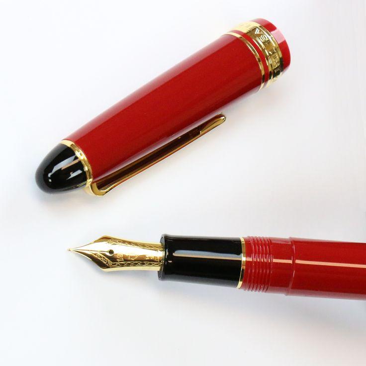 Sailor 1911 Standard Fountain Pen in Red https://www.penchalet.com/fine_pens/fountain_pens/sailor_1911_standard_fountain_pen.html