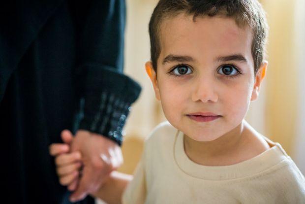 Refugee children forced to flee   World Vision International