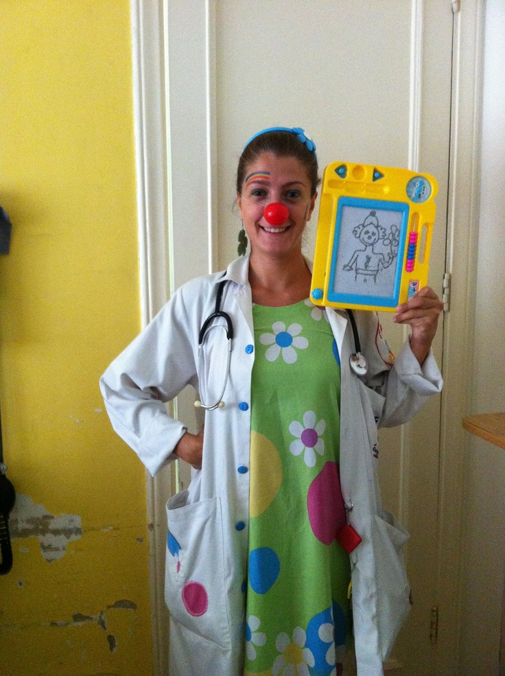 Ibtissama Clown Doctors cheering up #children in #hospitals