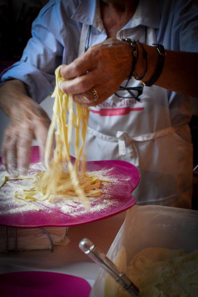 Une touche de miel | Pâtes fraîches aux oeufs d'Anna Bini | al Italia no1 | http://www.unetouchedemiel.com