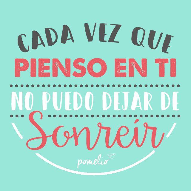 Pensando en ti #Pomelio #Smile #thinkingaboutyou #sonrie