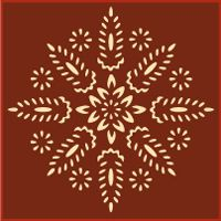 early american stencils | these stencils are sized to match colonial border stencil