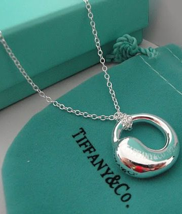 Tiffany & Co. Elsa Peretti Eternal Circle Pendant ♥ I used to have one and it was my favorite!!