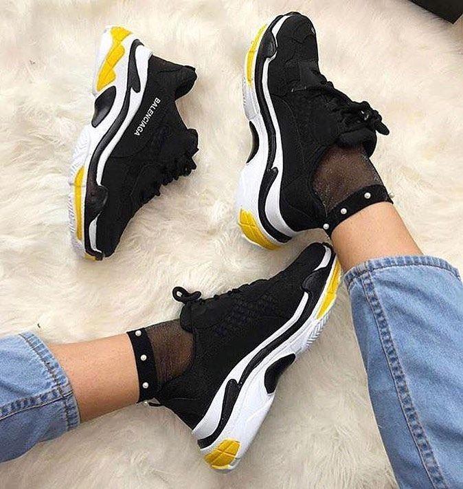 Bayan Spor Ayakkabi Women Sneakers Size 36 37 38 39 40 Kapida Odeme Mevcuttur Iade Degisim Yoktur Worldwide Balenciaga Ayakkabi Ayakkabilar Moda Ayakkabilar