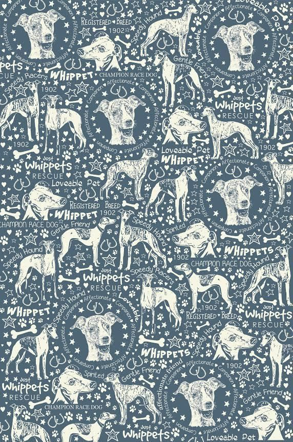 Just Whippets Rescue Tea Towel | eBay