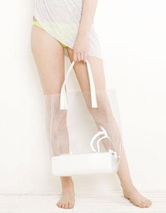 @Kanyon Istanbul // Transparent bag