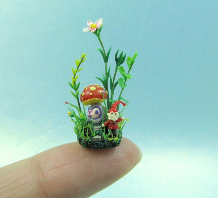 Excited to share the latest addition to my #etsy shop: The Micro gnome and mushroom house http://etsy.me/2jnqQoY