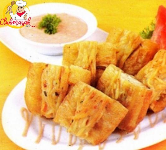 Resep Sajian Dengan Saus Mayones, Cakue Goreng Saus Mayones, Masakan Ala Cafe, Club Masak