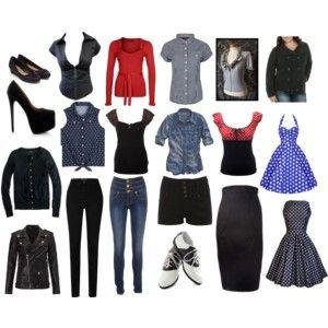 Pinup/Rockabilly inspired Wardrobe