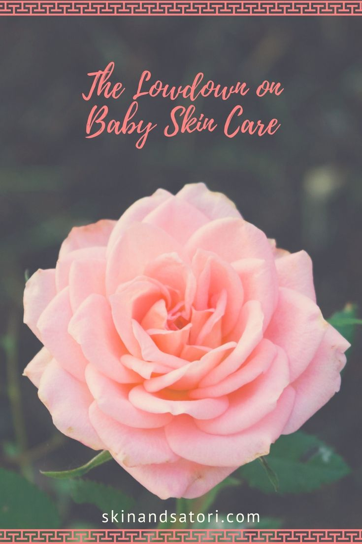 The Lowdown on Baby Skin Care ~organic, skin care, cruelty free, children, sensitive skin~