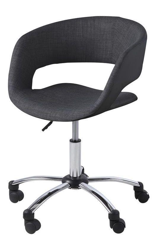 Gia bureaustoel antraciet - Robin Design
