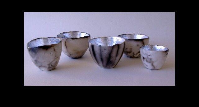 DIANE KOTZAMANIS.....LITTLE POTS OF MOONSHINE .....TEA CANDLE HOLDERS...Diane Kotzamanis.... https://m.facebook.com/pages/DK-Ceramics/476698149067003
