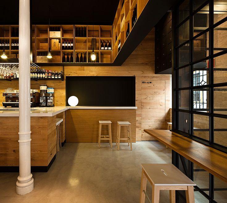 restaurant pacatar. seville. donaire arquitectos.