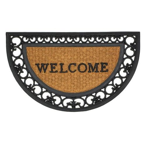 Regal Half Moon Framed Entry Mat
